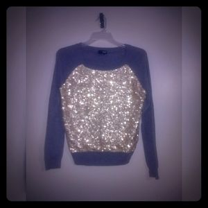 Ana Grey Sequin Sweater